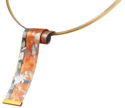 Kreuchauff-Design: Collier 'Wave', Collier, Schmuck
