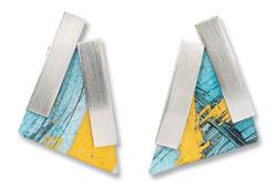 Kreuchauff-Design: Ohrstecker 'Triangulo', Schmuck