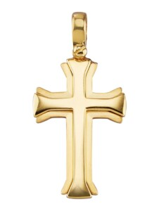 Kreuz-Anhänger Diemer Gold Gold