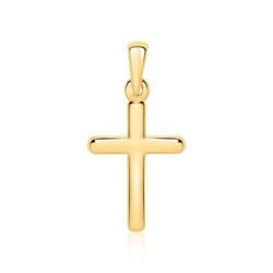 Kreuzanhänger aus 9-karätigem Gold
