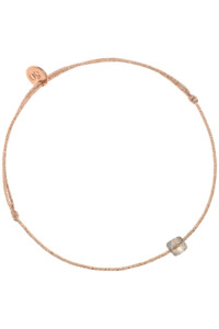 LABRADORIT Armband rosé vergoldet
