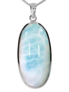 Larimar Anhänger 925 Silber 1001 Diamonds blau