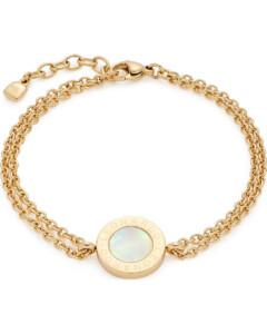 Leonardo Damen-Armband Mauritia Edelstahl/Kristall