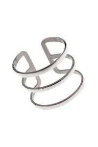 LINES Edelstahl Ring