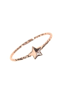 LITTLE STAR Ring rosé vergoldet