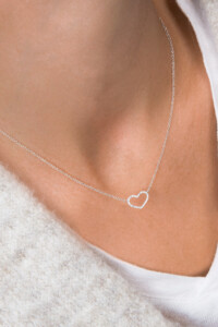 LOVE Diamant Halskette