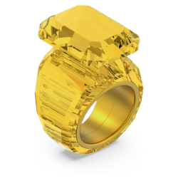 Lucent Cocktail Ring, Gelb