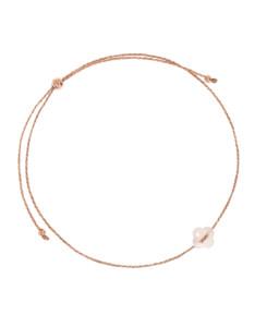 LUCKY CLOVER|Armband Peach