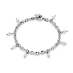 Madina Darlin´s Armband aus Edelstahl mit Perlen