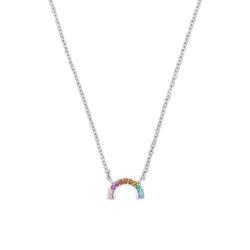 Mädchen Kette Regenbogen aus Sterlingsilber