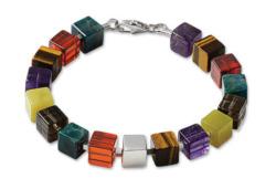 Marc Kolsters: Armband 'Cubo', Schmuck