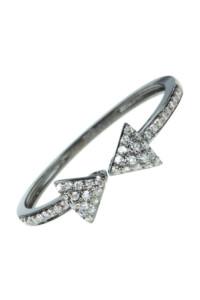 MASCHE Diamant Ring Weißgold