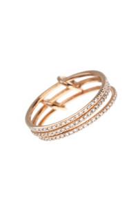 MEMOIRE Ring Roségold