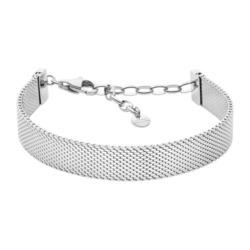 Mesh Armband Merete für Damen aus Edelstahl