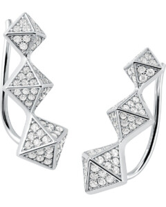 Michael Kors Damen-Ohrringe 925er Silber