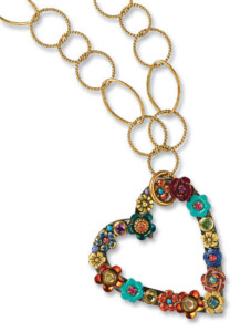 Michal Golan: Collier 'Heart of Flowers', Collier, Schmuck
