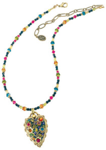 Michal Golan: Collier 'Multi Flower Kristall', Schmuck