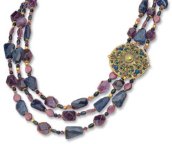 Michal Golan: Collier 'Purple', Collier, Schmuck