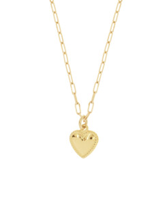MINI HEART|Halskette Gold