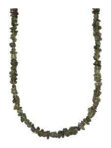 Moldavit-Kette Diemer Farbstein Grün