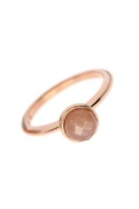 MONDSTEIN Ring rosé vergoldet