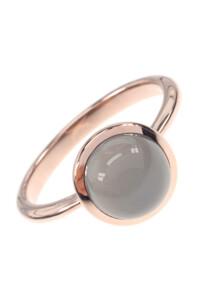 Mondstein Roségold Ring