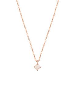MOONSTONE Halskette Rosé
