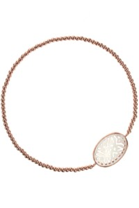 MOTHER OF PEARL Armband rosé vergoldet