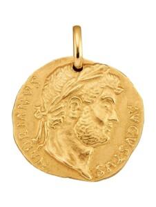 Münz-Anhänger Diemer Gold Gelbgoldfarben