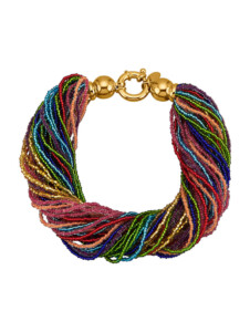 Muranoglas-Armband KLiNGEL Multicolor
