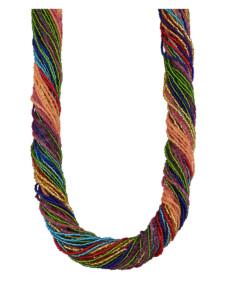 Muranoglas-Collier KLiNGEL Multicolor