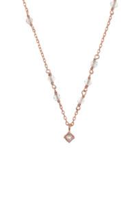 MYSTICAL MOON Halskette rosé vergoldet