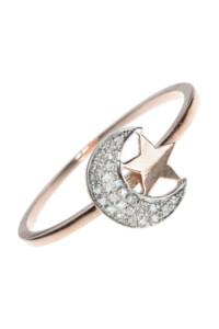 NIGHT SKY Diamant Ring Roségold