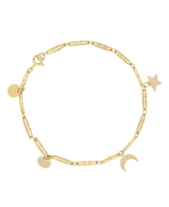 NIGHT SKY Armband Gold