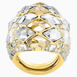 Notorious Cocktail Ring, mehrfarbig, Vergoldet