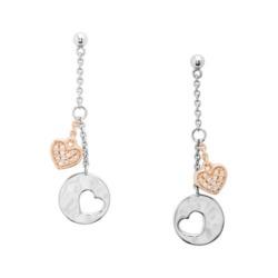 Ohrhänger Hearts für Damen aus Sterlingsilber