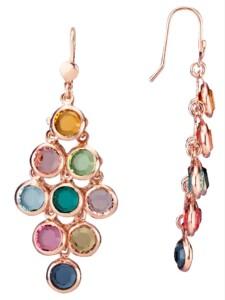 Ohrhaken mit Swarovski-Kristallen AMY VERMONT Multicolor