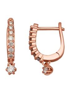 Ohrringe Diemer Diamant Rosé