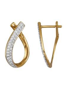 Ohrringe Diemer Diamant Weiß