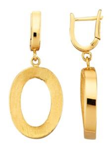 Ohrringe Diemer Gold Gelbgoldfarben