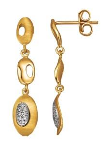 Ohrringe Diemer Gold Weiß