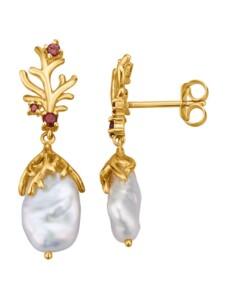 Ohrringe Diemer Perle Weiß