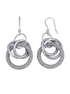 Ohrringe Diemer Trend Silberfarben