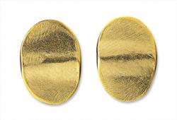 Ohrstecker 'Goldplättchen', Schmuck