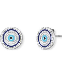 Ohrstecker Lucky Eye aus Sterling Silber