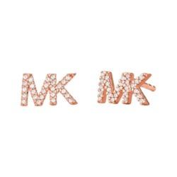 Ohrstecker MK aus rosévergoldetem 925er Silber Zirkonia