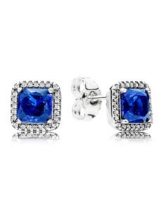 Ohrstecker Zeitlose Eleganz blau Pandora Blau
