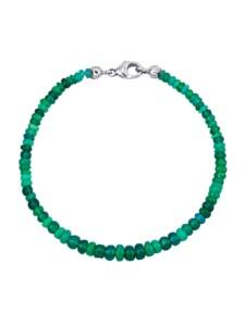 Opal-Armband Diemer Farbstein Grün