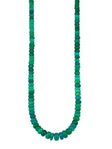 Opal-Kette Diemer Farbstein Grün