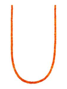 Opal-Kette Diemer Farbstein Orange